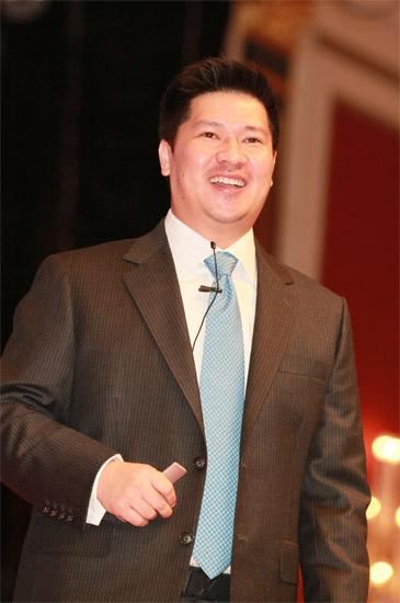 上海康麦斯保健品有限公司现任总裁叶磊
