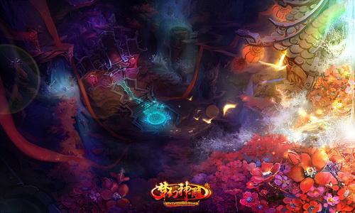 梦幻神雕侠侣 色彩绚丽的场景设计