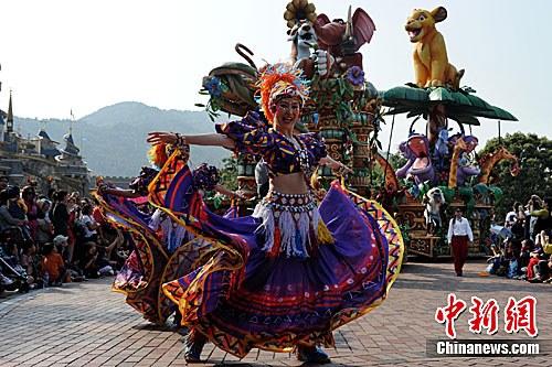 香港迪斯尼乐园 郑祚声