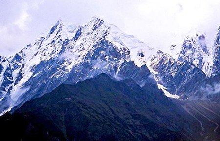中国最美的雪山南迦巴瓦