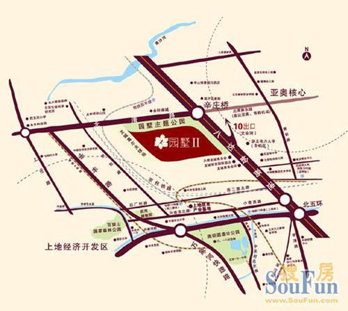 北清路東延工程;2.京-包快速路;3.圖片