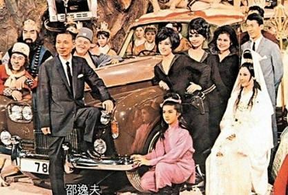 邵逸夫1958年成立邵氏兄弟(香港)有限公司,一手捧红无数影星