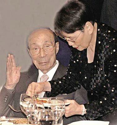 邵逸夫与方逸华相守近半个世纪