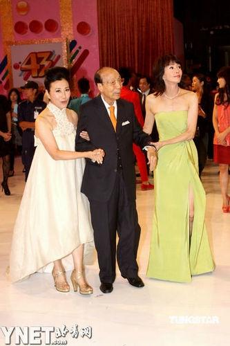 邵逸夫出席无线43周年台庆亮灯仪式
