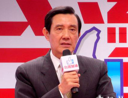 """马英九表示,金正日过世,目前看不出台湾在""""国防、外交""""上有何重大影响。 图片来源:香港""""中评社"""""""