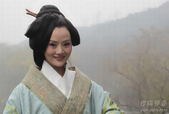 """楚汉争雄》热拍 王靖云出演有情有义""""薄姬 ..."""
