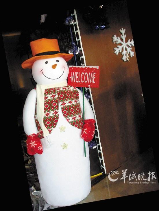 圣诞/广交会威斯汀酒店大堂内圣诞树