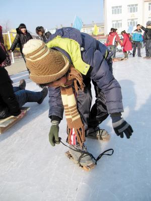 冰爬犁的制做图纸