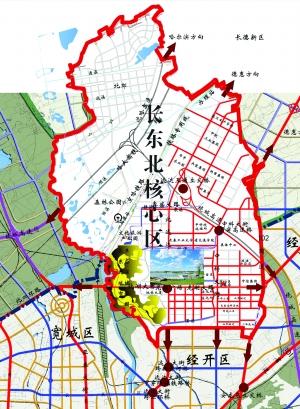长春北湖规划图