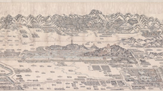 圆明园重建之战,从古地图中寻找答案!