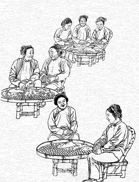 古代宫廷简笔画