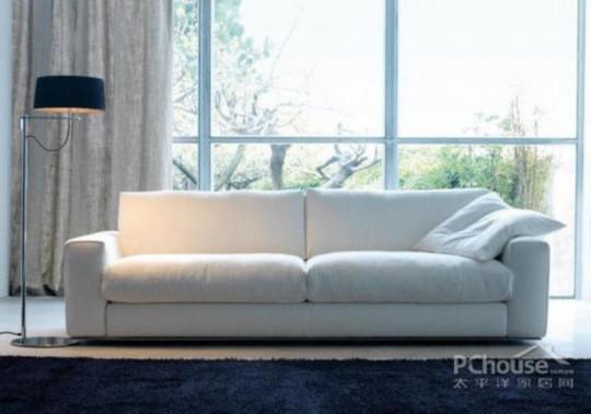 从平价到顶级 12款百搭白色布艺沙发(组图)图片