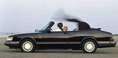 1986年,saab 900 convertible敞篷跑车的诞生标志着它的成高清图片