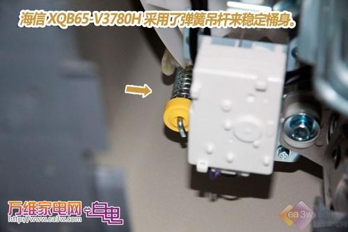 洁净无死角 海信XQB65-V3780H波轮评测