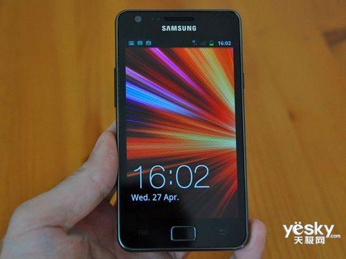 图为:三星 i9100 手机