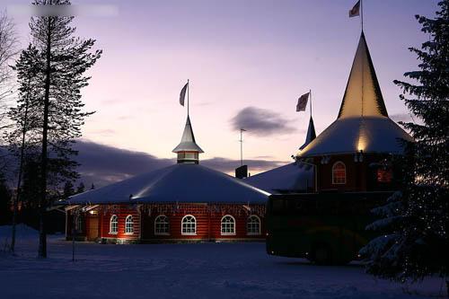芬兰圣诞老人村