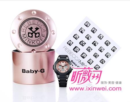 Baby G X Rebecca Minkoff限量款手表压轴走秀