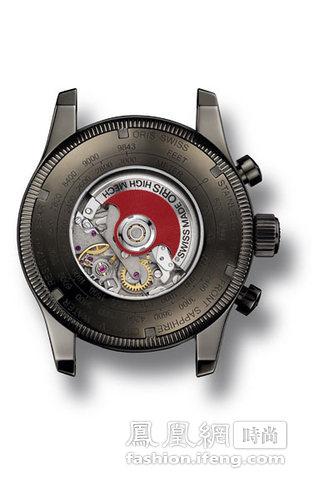 手表的后盖上有公尺和英尺的刻度