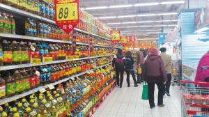 超市促销忙 批发悄悄涨 食用油市场呈现两重天(图)图片