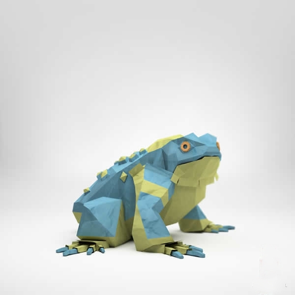 最逼真的纸折动物(组图)