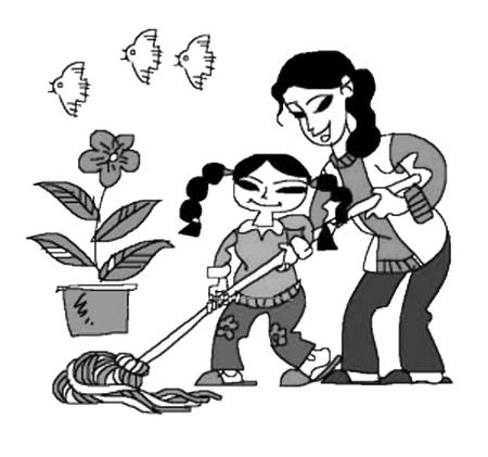 孩子爱干家务长大后更易成功(图)