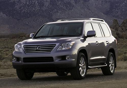图片为2008款雷克萨斯lx570车型