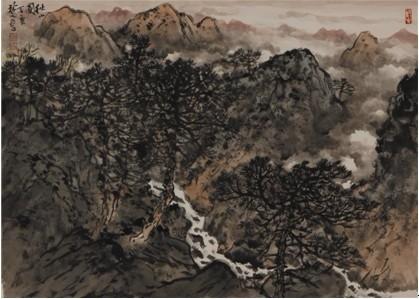 """新春的脚步悄然临近,由广东作家书画院主办的""""迎春书画名家作品展""""图片"""