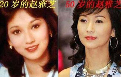 赵雅芝50岁保养如此亮丽