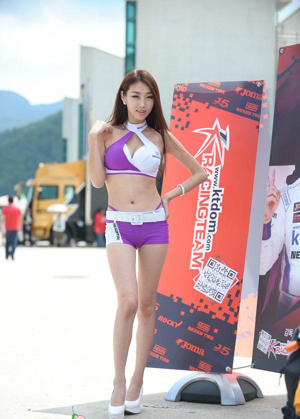 韩国车模MM美腿美胸大比拼高清大图放映 搜狐
