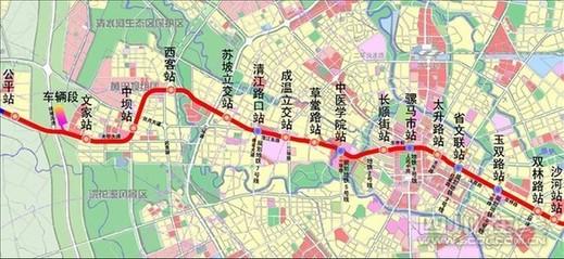 (川报集团全媒体中心记者 陈明�h)成都地铁4号线为中心城区重要
