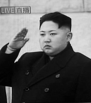 金正恩在锦绣山宫出席遗体告别仪式