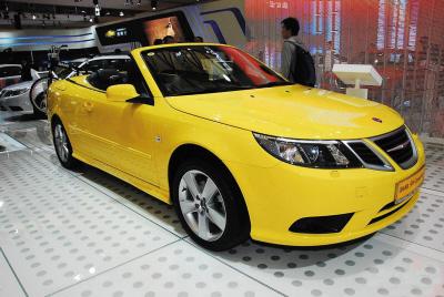 12月20日,瑞典地方法院发布公告,正式宣布批准瑞典萨博汽车高清图片