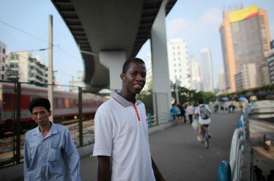 探访广州黑人社区