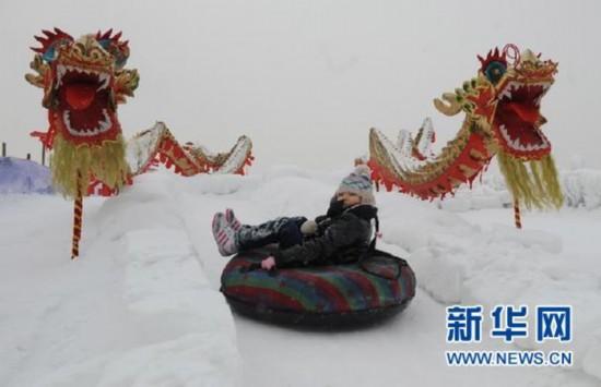 玉渊潭开启春节文化体验活动