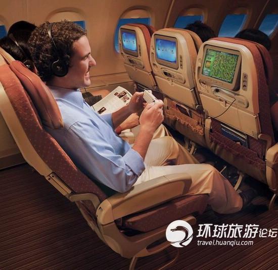 新加坡航空A380经济舱-空中巨无霸 盘点启用空客A380的航空公司