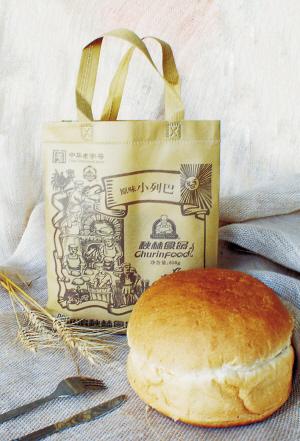 """面包液态酵母三次发酵工艺制作的秋林大列巴,被喻为哈尔滨""""一大怪""""图片"""