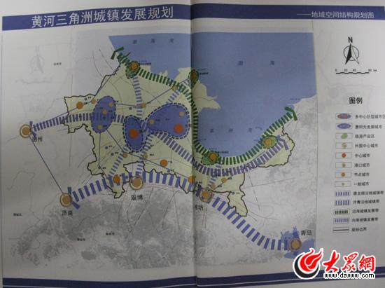 黄蓝图-滨州学区划分图