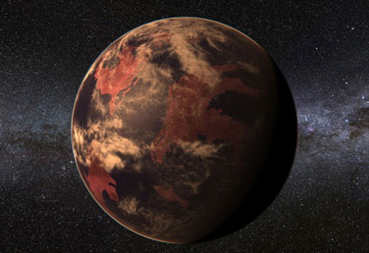 一颗温暖类地行星环绕红矮星运行,蒙特兹最新研制的天文软件可使天文学家输入勘测数据,便能呈现行星的外观结构