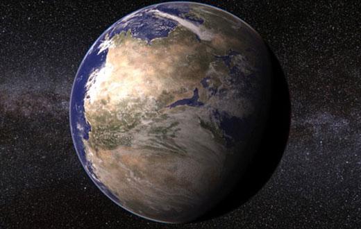 在2.4亿年前,当时地球大陆仍是连接在一起的泛古陆