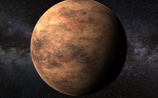 这是一颗比地球更加温暖的行星,蒙德兹基于有用的科学信息形成绚丽的3D行星世界