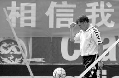 图片说明:③谁还相信卡马乔和中国足球?CFP