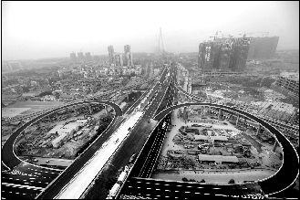 武汉二七长江大桥竣工通车