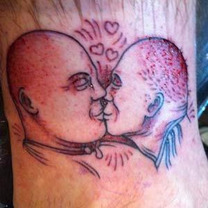 奥尼尔恶搞千元悬赏 巴克利巴维塔舌吻照成纹身