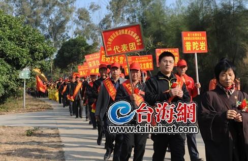 20120101五千游客齐聚翔安香山张天骄 摄图片