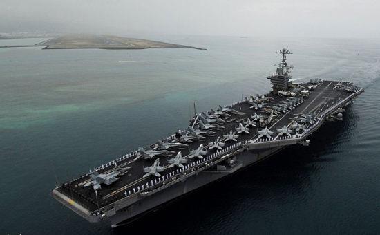 伊朗美国_美国拒绝伊朗警告称将继续派遣航母到波斯湾(图)