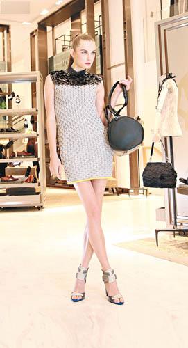 TOGA灰色针织连身裙$6,680