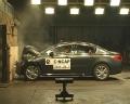 [碰撞视频]2011款标致508 正面碰撞视频