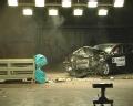 [碰撞视频]2011款标致508 40%碰撞视频