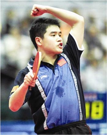 刘国正曾在世乒赛团体赛连救七个赛点
