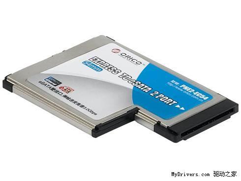 这两款扩展卡是利用笔记本expresscard(有34/54两种外形选择)插槽扩展